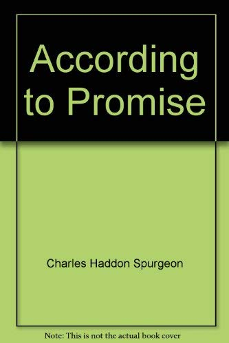 9780801081415: According to Promise