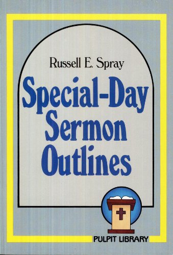 9780801082412: Special Day Sermon Outlines
