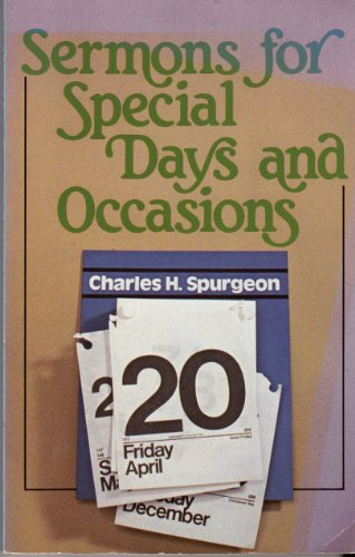 9780801082474: Sermons for Special Days & Occasions