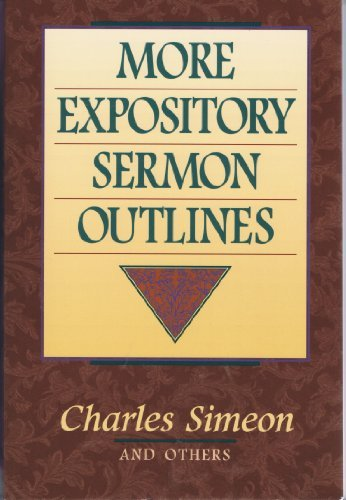 9780801090165: More Expository Sermon Outlines