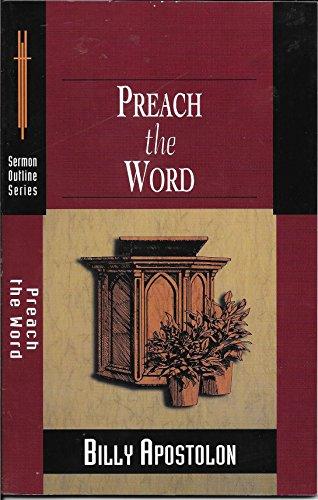 9780801090707: Preach The Word