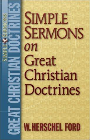 9780801091247: Simple Sermons on Great Christian Doctrines