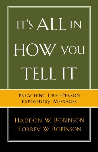 biblical preaching the development and delivery of expository messages pdf