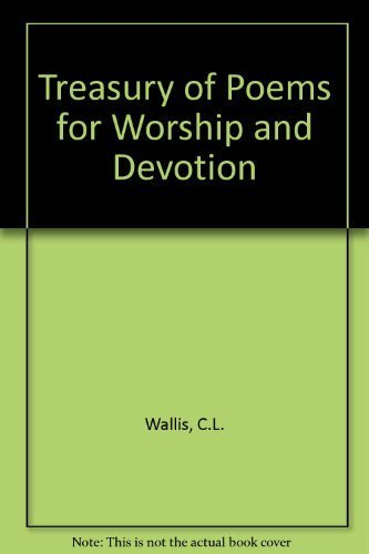 9780801095535: Treasury of Poems for Worship and Devotion