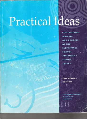 9780801112218: Practical Ideas for Teaching Writing as a Process, Elementary and Middle Grade Levels