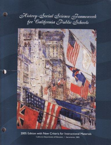 9780801115981: History-Social Science Framework for California Public Schools : Kindergarten Through Grade Twelve