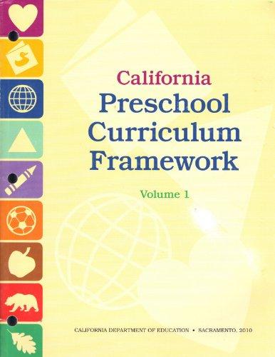 9780801116827: California Preschool Curriculum Framework