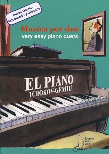 9780801237188: TCHOKOV - Musica per Due para Piano a 4 manos