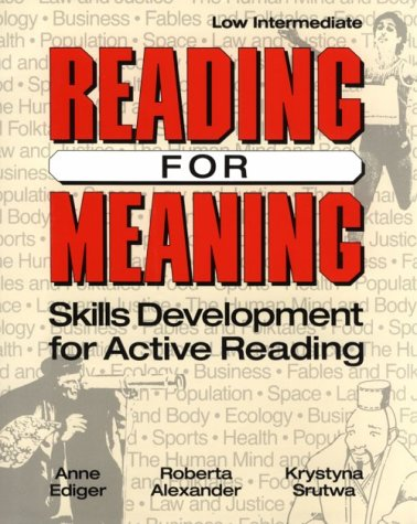 9780801300523: Reading for Meaning: Skills Development for Active Reading