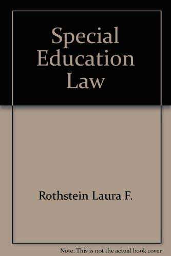 9780801302091: Special education law