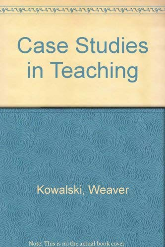 9780801302336: Case Studies in Teaching