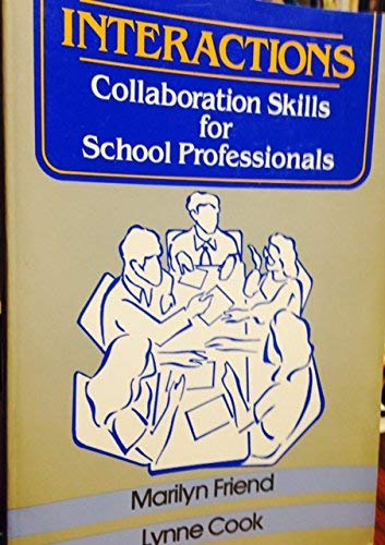9780801302978: Interactions: Collaboration Skills for School Professionals