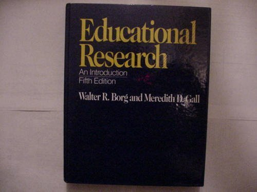 9780801303340: Educational Research: An Introduction