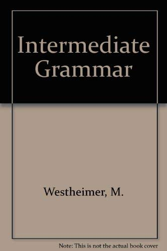 9780801303463: Focus on Grammar: An INTERMEDIATE Course for Reference and Practice (Longman Grammar Series)