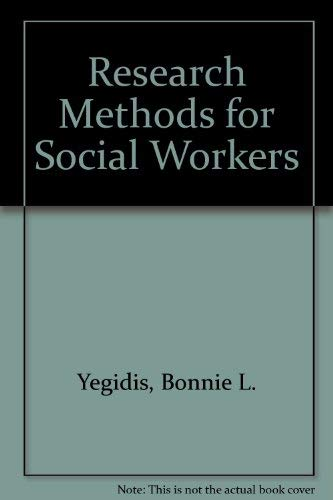 9780801303616: Research Methods for Social Workers