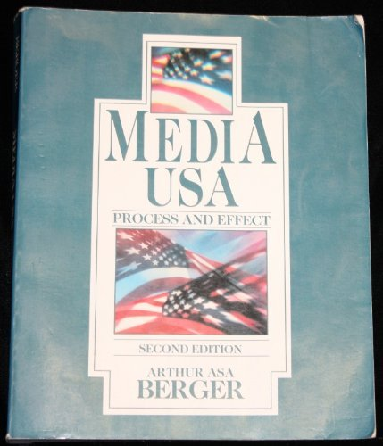 9780801304521: Media USA: Process and Effect (Longman series in public communication)