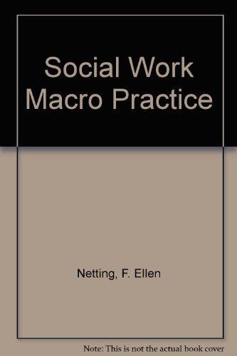 9780801304644: Social Work Macro Practice