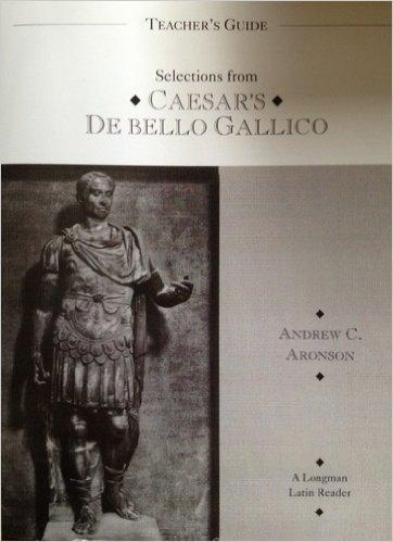 9780801309779: Teacher's Guide Selections from Caesar's de Bello Gallico