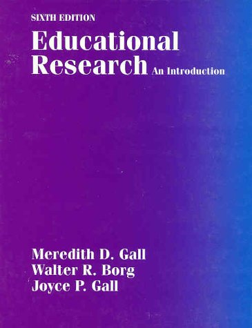 9780801309809: Educational Research: An Introduction (6th Edition)