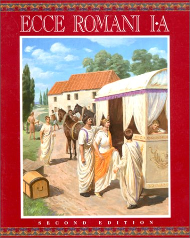 ecce romani latin 1 This group will study ecce romani 1 this is a group tutorial and substantial work outside group time is required you can expect to do 4-5 hours per week at home this semester will be the 2nd half of high school latin 1 we'll be starting at approximately chapter 10 in ecce romani 1 participants will be prepared to sit for.