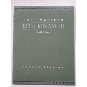 9780801312229: Ecce Romani III: Second Edition: Test Masters
