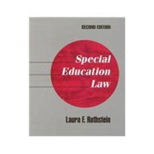 9780801312342: Special Education Law