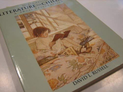 9780801312656: Literature for Children: A Short Introduction