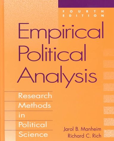 9780801313073: Empirical Political Analysis: Research Methods in Political Science