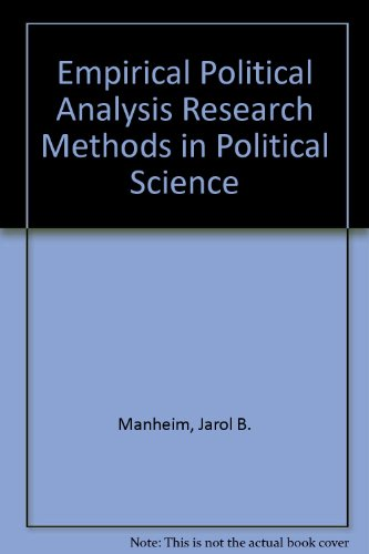 what are the methods of political science