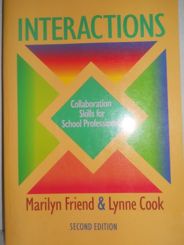 9780801315213: Interactions: Collaboration Skills for School Professionals