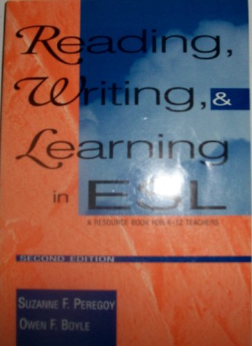 9780801316289: Reading, Writing, and Learning in Esl: A Resource Book for K-12 Teachers