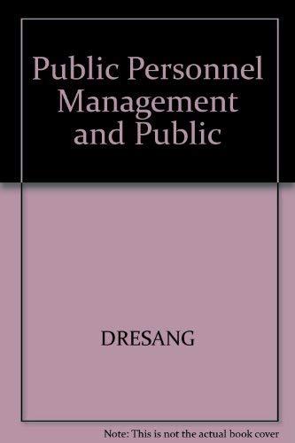 9780801316944: Public Personnel Management and Public