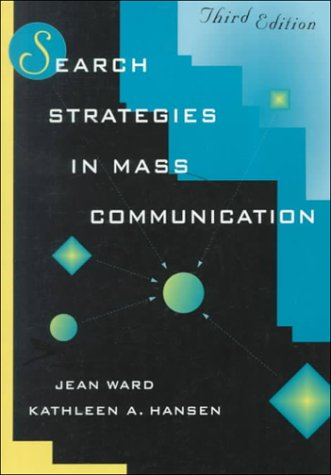 9780801317552: Search Strategies in Mass Communication (3rd Edition)