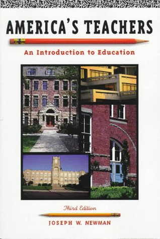 9780801317675: America's Teachers: An Introduction to Education