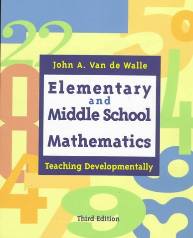 9780801318665: Elementary and Middle School Mathmatics: Teaching Developmentally