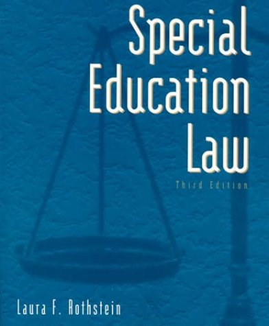 9780801319617: Special Education Law (3rd Edition)
