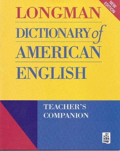 Longman Dictionary of American English Teacher's Companion: Addison Wesley Longman, Longman U ...