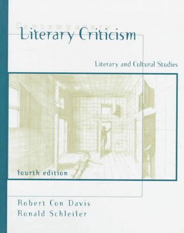 Contemporary Literary Criticism: Literary and Cultural Studies (4th Edition): Robert Con Davis; ...
