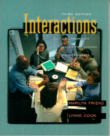 9780801330650: Interactions: Collaboration Skills for School Professionals (3rd Edition)