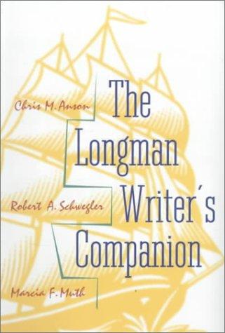 9780801331572: The Longman Writer's Companion