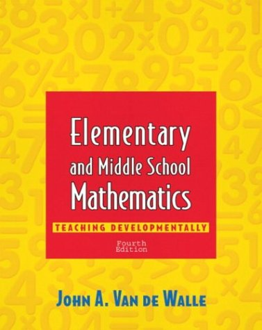 9780801332531: Elementary and Middle School Mathematics: Teaching Developmentally