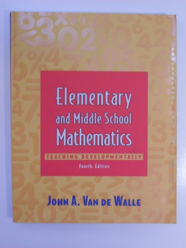 9780801332548: Elementary and Middle School Mathematics Teaching Developmentally 4th Edition