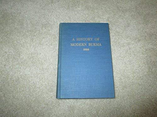 9780801400599: A History of Modern Burma