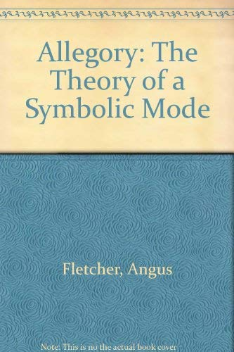 9780801401312: Allegory: The Theory of a Symbolic Mode