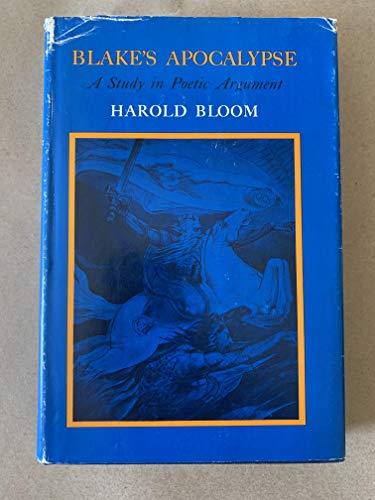 9780801405686: Blake's Apocalypse: A Study in Poetic Argument