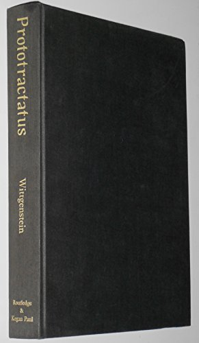 Prototractatus;: An early version of Tractatus logico-philosophicus: Ludwig Wittgenstein