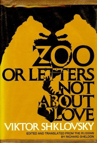 9780801406560: Zoo, or Letters Not About Love