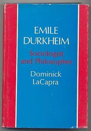 9780801407017: Emile Durkheim: Sociologist and Philosopher