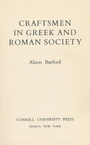 9780801407178: Craftsmen in Greek and Roman Society (Aspects of Greek and Roman Life)