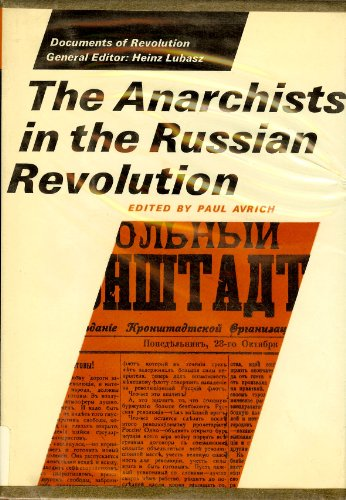 9780801407802: Title: The Anarchists in the Russian revolution Documents